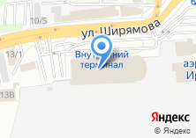 Компания «Терминал-Сервис» на карте