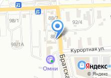 Компания «Узбекское» на карте