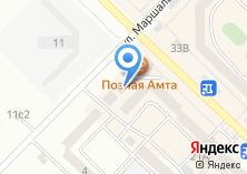 Компания «Фортуна мебель» на карте
