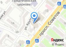Компания «Детвора» на карте
