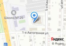 Компания «Строящееся административное здание по ул. Каштакская 5-я» на карте