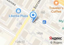 Компания «Билет-СВ» на карте