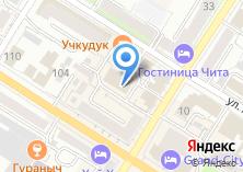 Компания «Забайкальские ресурсы» на карте