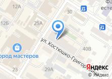 Компания «Строящееся административное здание по ул. Курнатовского» на карте