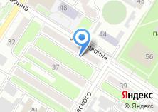 Компания «Юникс+» на карте