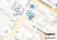 Компания «Министерство природных ресурсов и промышленной политики Забайкальского края» на карте