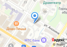 Компания «Архстрой» на карте