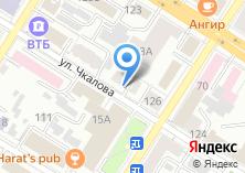 Компания «Авиаline» на карте