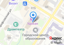 Компания «Удокан» на карте