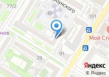 Компания «Гостевые квартиры» на карте