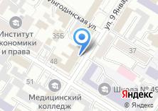 Компания «Профсоюз гражданского персонала Вооруженных Сил России Забайкальского края» на карте