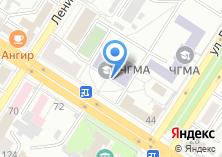 Компания «ЧГМА Читинская Государственная Медицинская Академия» на карте