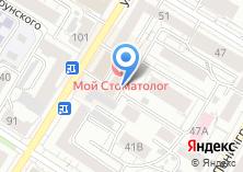 Компания «DENTA люкс» на карте