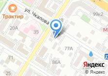 Компания «Потолковый мастер» на карте