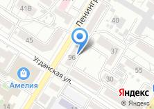 Компания «Вечорка» на карте