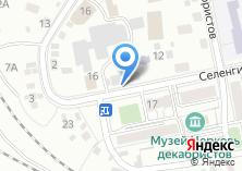 Компания «Строящееся административное здание по ул. Селенгинская» на карте
