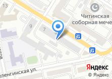 Компания «Забайкальское аэрогеодезическое предприятие» на карте