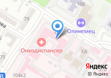 Компания «Забайкальский краевой онкологический диспансер» на карте