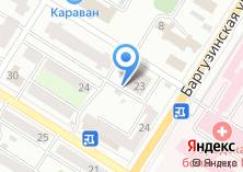 Компания «Баня №8» на карте