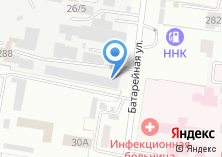 Компания «Сертекс-ДВ» на карте
