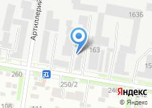 Компания «Ракурс» на карте