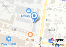 Компания «Амурская строительная компания» на карте