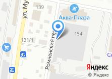 Компания «БлагБак» на карте