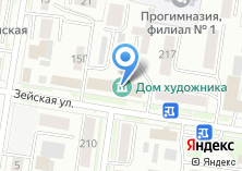 Компания «Амурремпроект» на карте