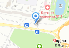 Компания «Диметра» на карте