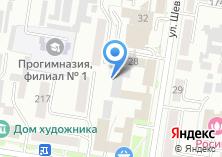 Компания «Банкомат Тэмбр-Банк» на карте
