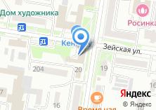 Компания «Территориальная избирательная комиссия Благовещенского района» на карте
