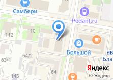 Компания «Модный» на карте