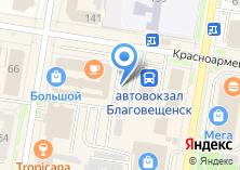 Компания «Амурский хлеб» на карте