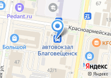 Компания «МастерПринт28» на карте