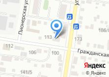 Компания «111» на карте