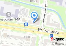 Компания «Общежитие АГМА» на карте
