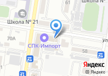 Компания «Дальлесстрах» на карте