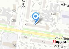 Компания «ДВ-деталь» на карте