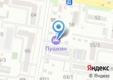 Компания «Пушкин» на карте