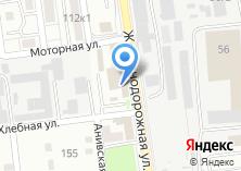Компания «Строящееся административное здание по ул. Железнодорожной» на карте