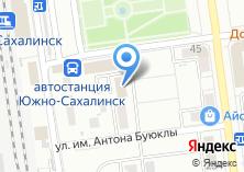 Компания «Сахгеострой» на карте