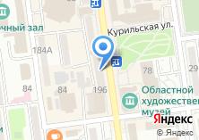 Компания «Теле2» на карте