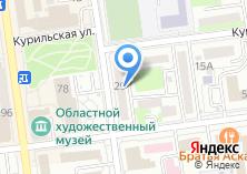 Компания «Федерация бильярдного спорта Сахалинской области» на карте