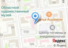 Компания «Сахалинский областной центр по профилактике и борьбе со СПИД» на карте