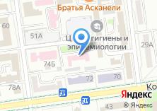 Компания «Городская дезинфекционная станция им Ю.А. Заккис» на карте