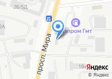 Компания «Деловой» на карте