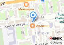 Компания «1 отделение Военного комиссариата г. Южно-Сахалинска» на карте
