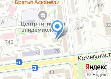 Компания «Строитель XXI» на карте