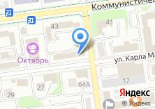 Компания «Адвокатский кабинет Сюзюмова Ю.В.» на карте