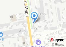 Компания «Канат+» на карте